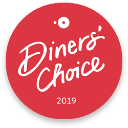 Diners Choice Logo, awarded 2019